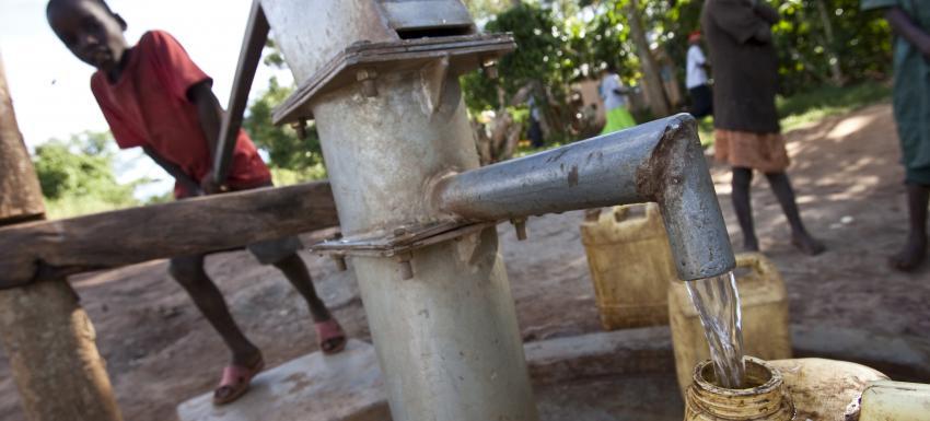 Une des actions du Rotary - La gestion de l'eau